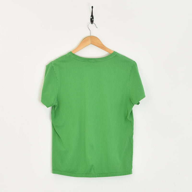 Women's Ralph Lauren T-Shirt Green XXSmall - BLOC Vintage Clothing