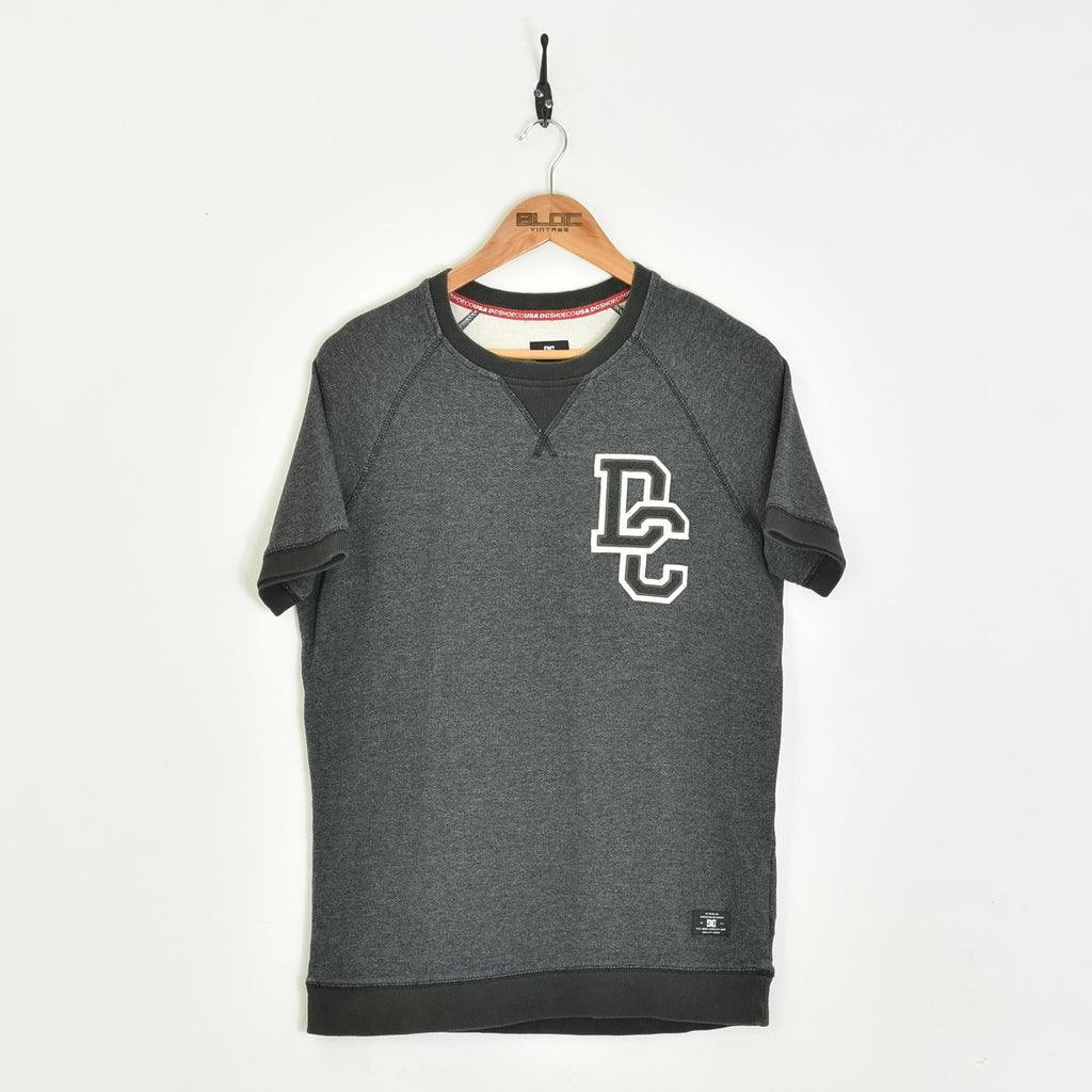 D.C Sweatshirt Grey Medium - BLOC Vintage Clothing