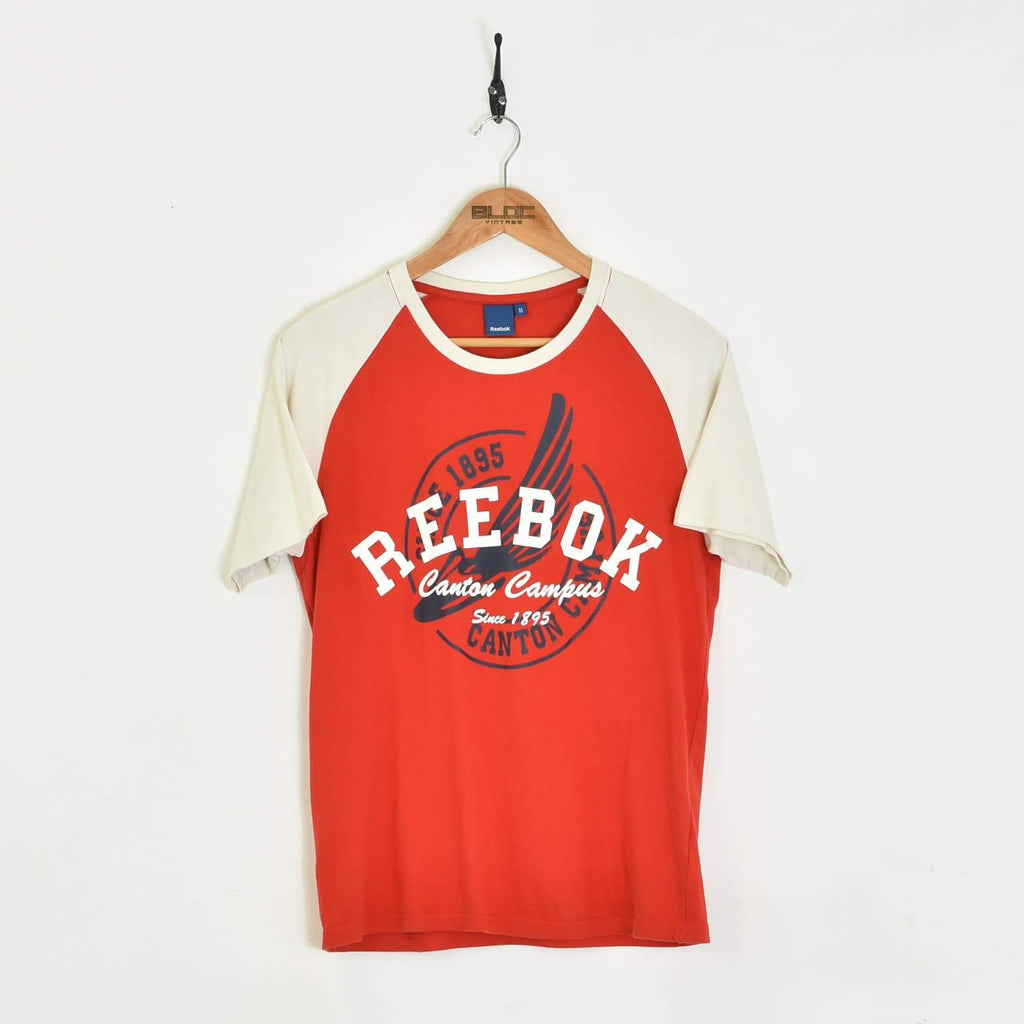 Reebok T-Shirt Red XSmall - BLOC Vintage Clothing