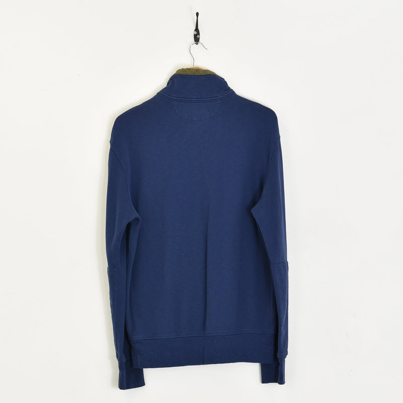 Ralph Lauren Sweatshirt Blue Large - BLOC Vintage Clothing