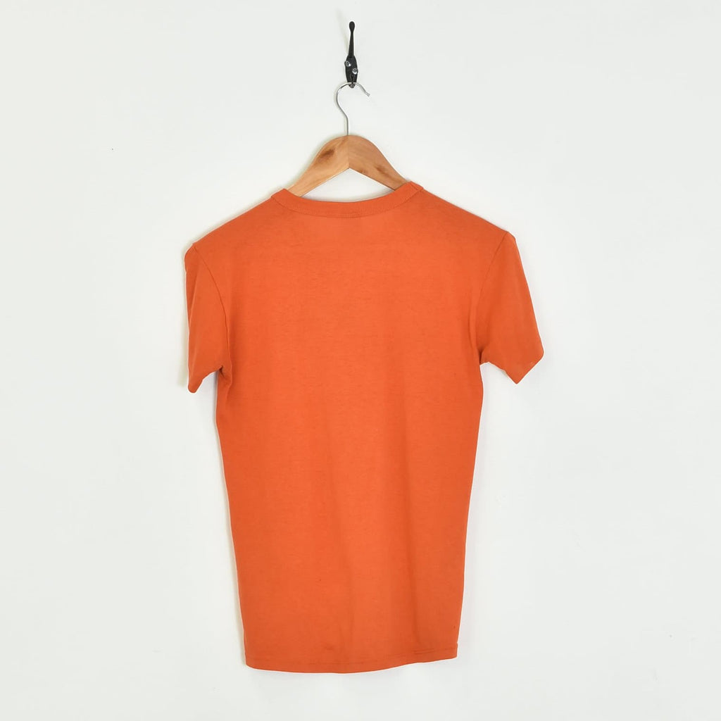 Edison T-Shirt Orange XXXSmall - BLOC Vintage Clothing