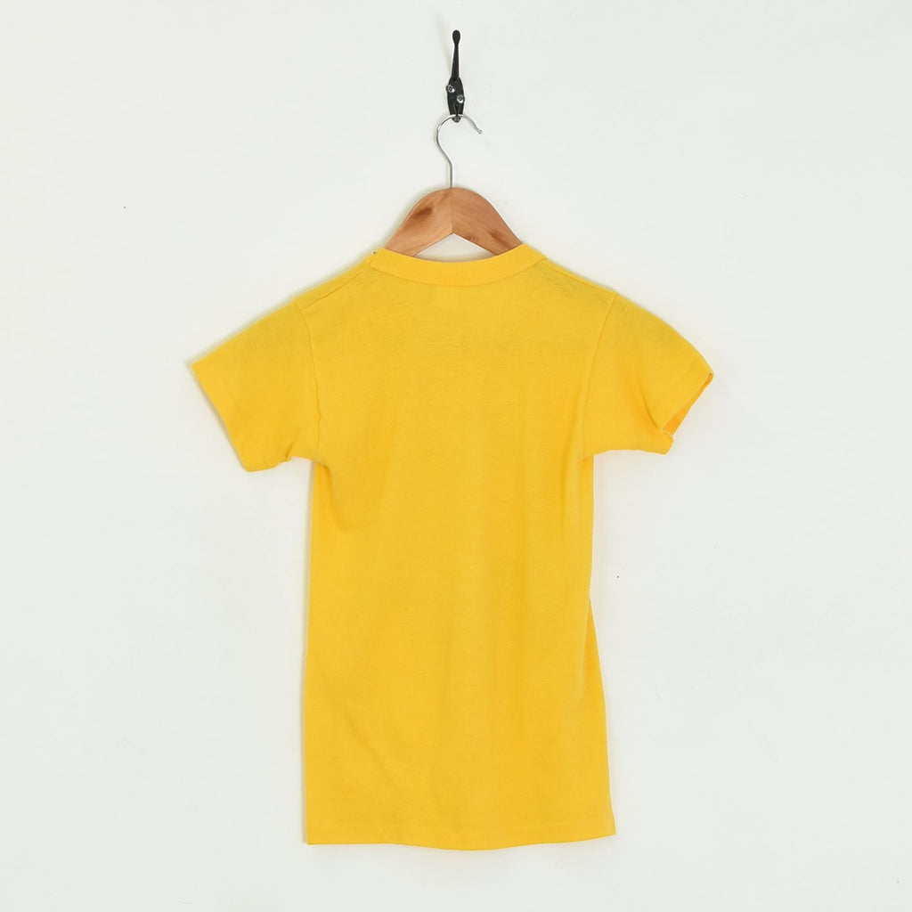 1981 West Branch T-Shirt Yellow XXXSmall - BLOC Vintage Clothing