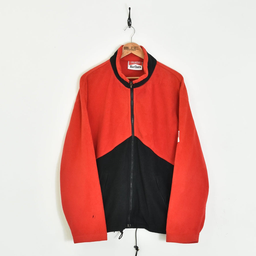 Marlboro Fleece Red Large - BLOC Vintage Clothing