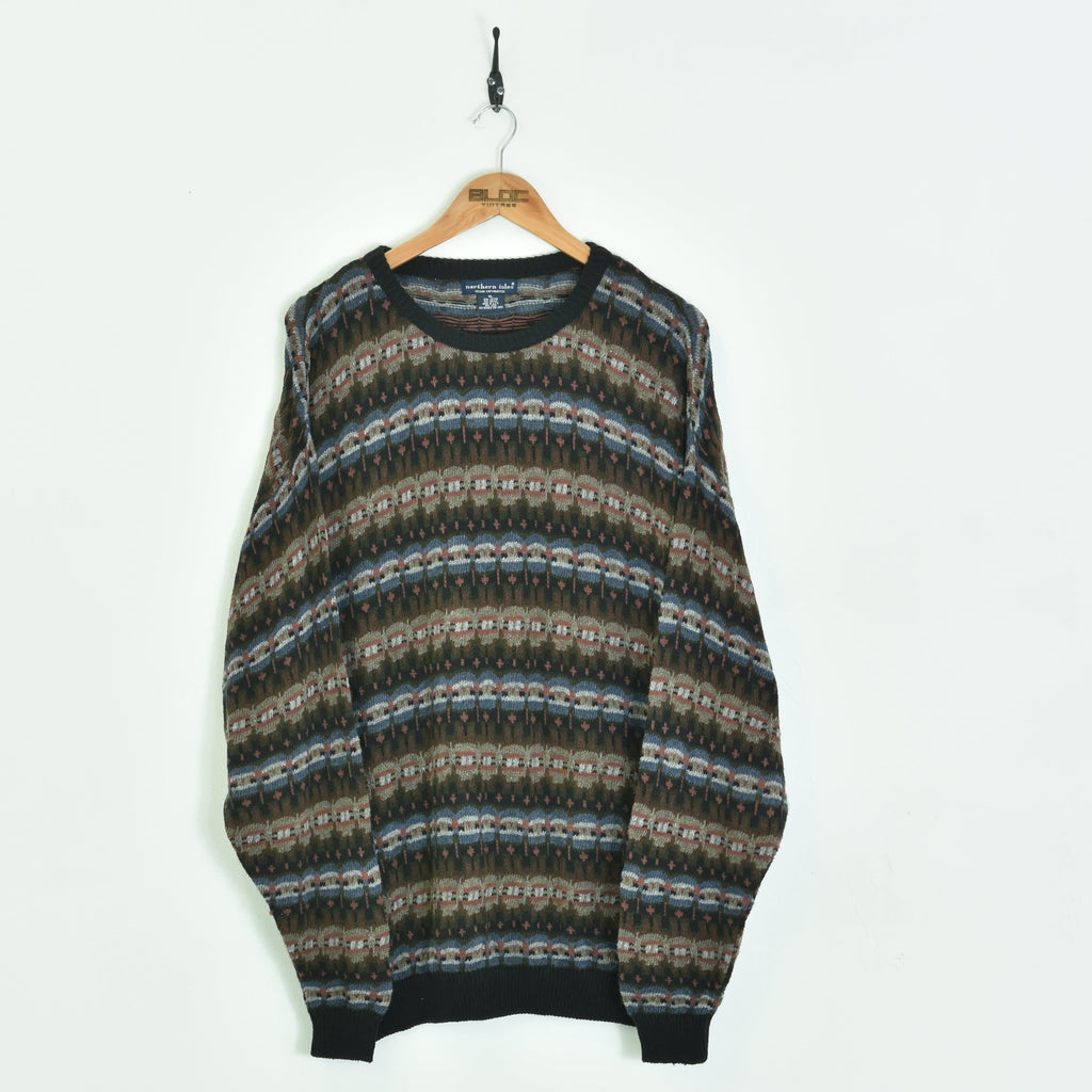 Knitted Sweater Brown XXLarge