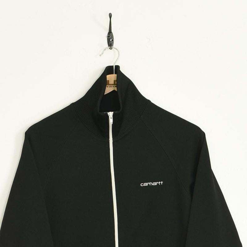 Carhartt Tracksuit Top Black XSmall - BLOC Vintage Clothing