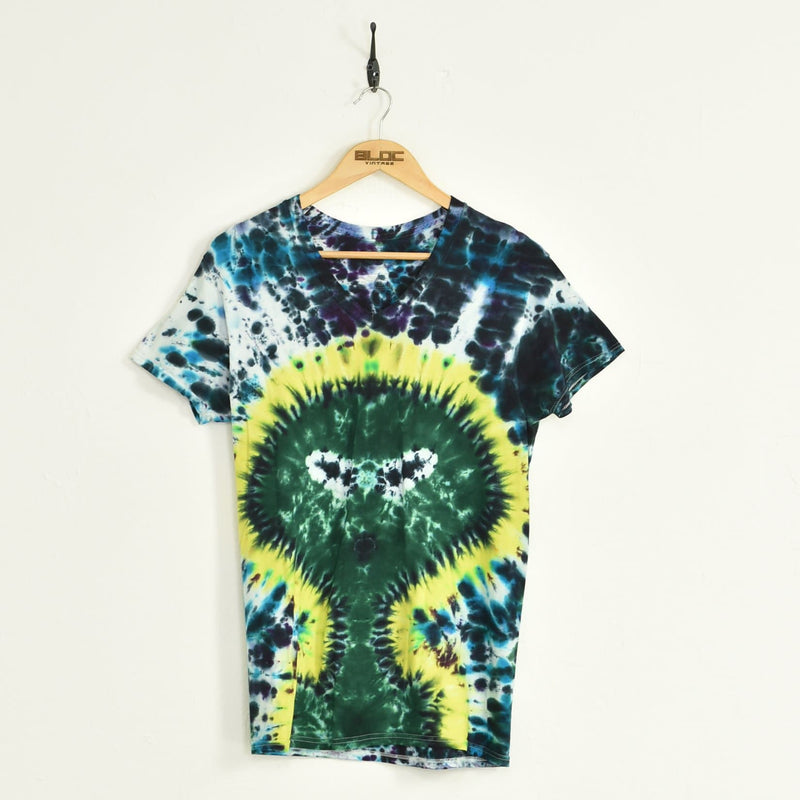 Tie-dye T-Shirt Blue Small - BLOC Vintage Clothing