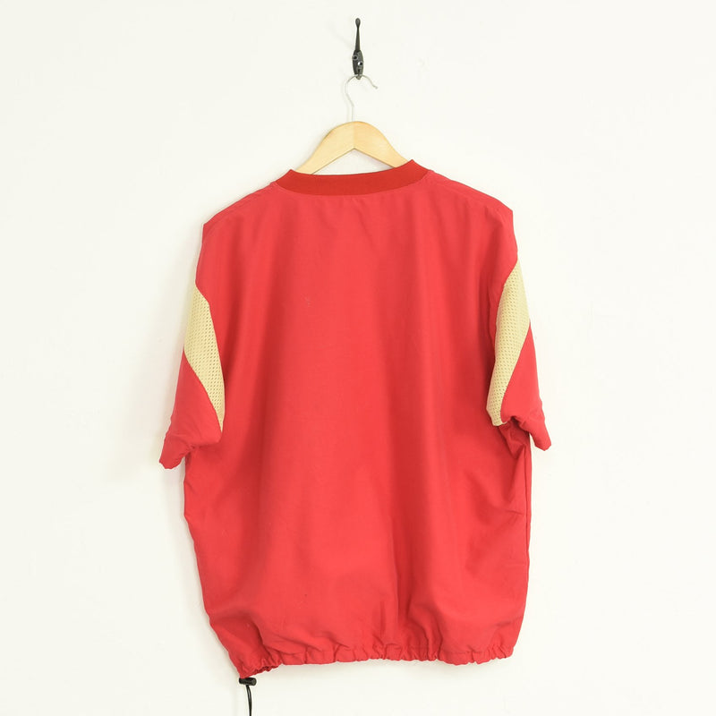 Centennial Training Top Red Large - BLOC Vintage Clothing
