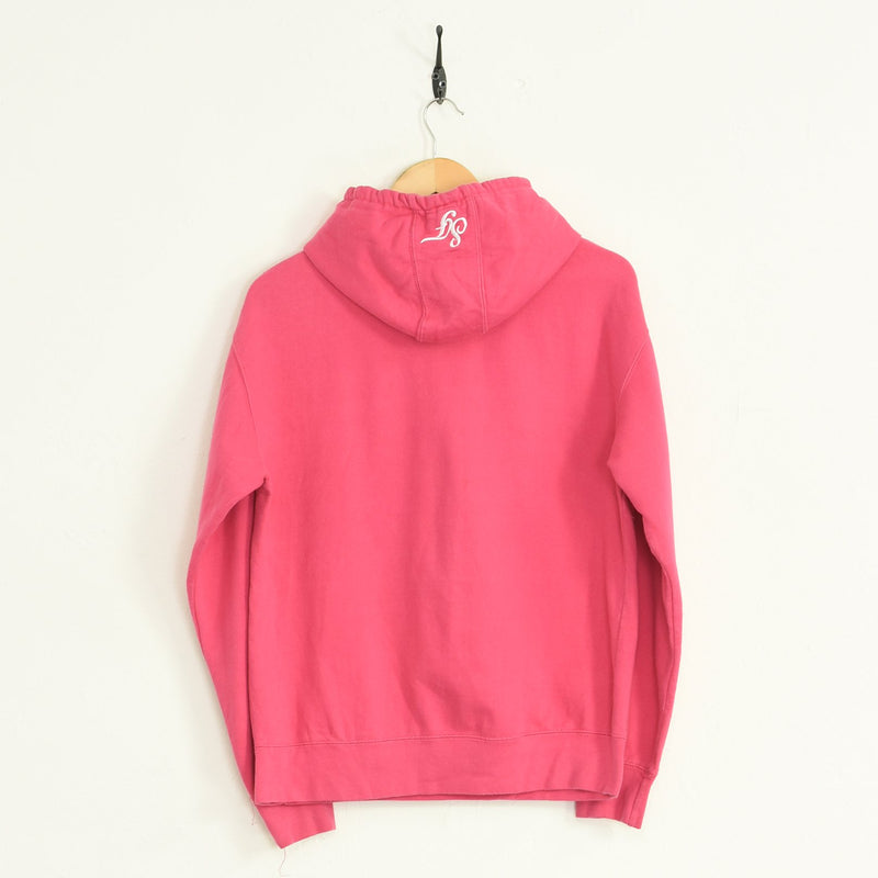 San Francisco Hooded Sweatshirt Pink XSmall - BLOC Vintage Clothing