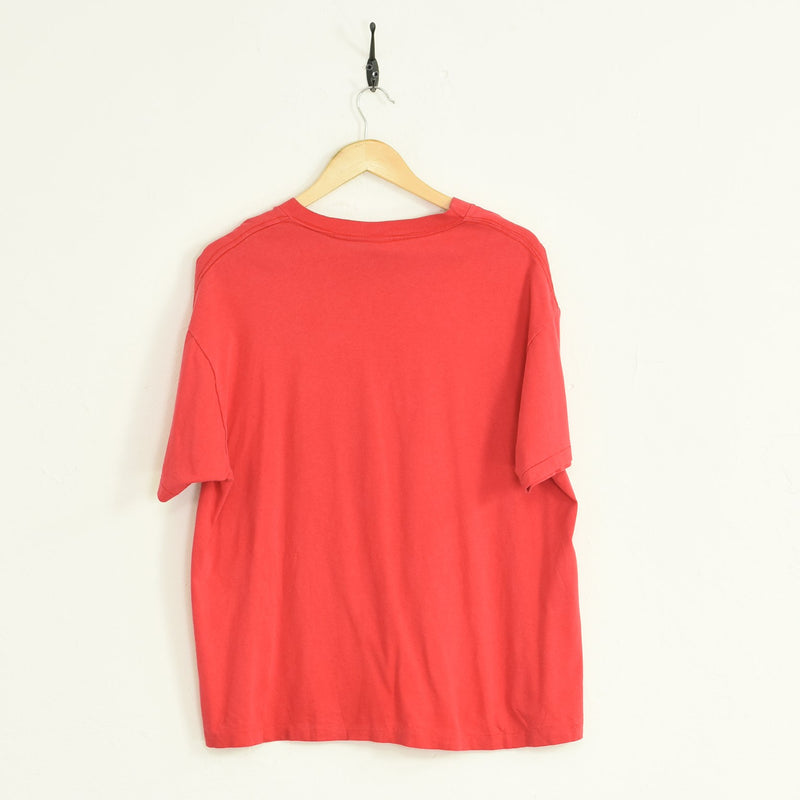T-Shirt Red Medium - BLOC Vintage Clothing