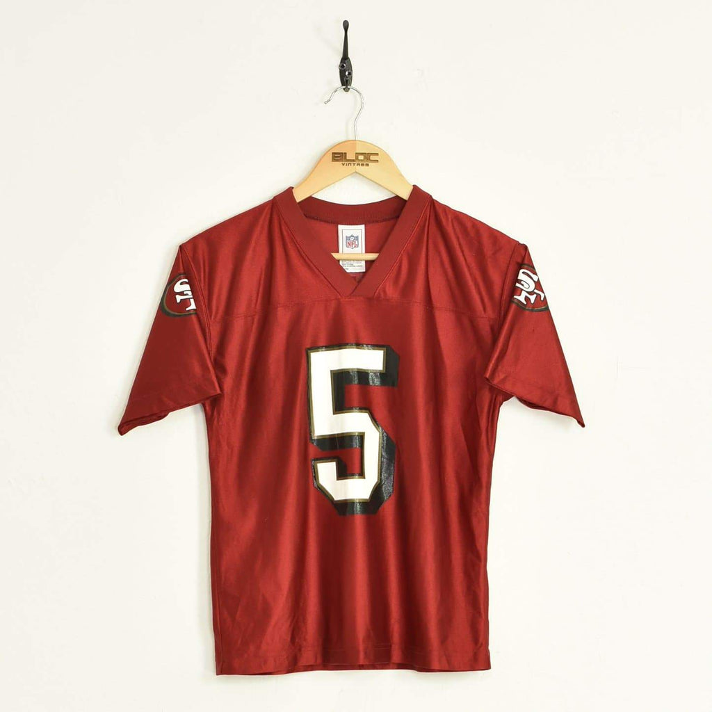 San Francisco NFL Jersey Red XXSmall - BLOC Vintage Clothing