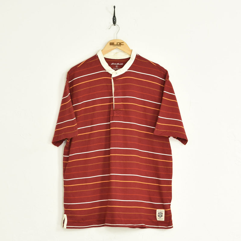 Rugby Shirt Red XLarge - BLOC Vintage Clothing
