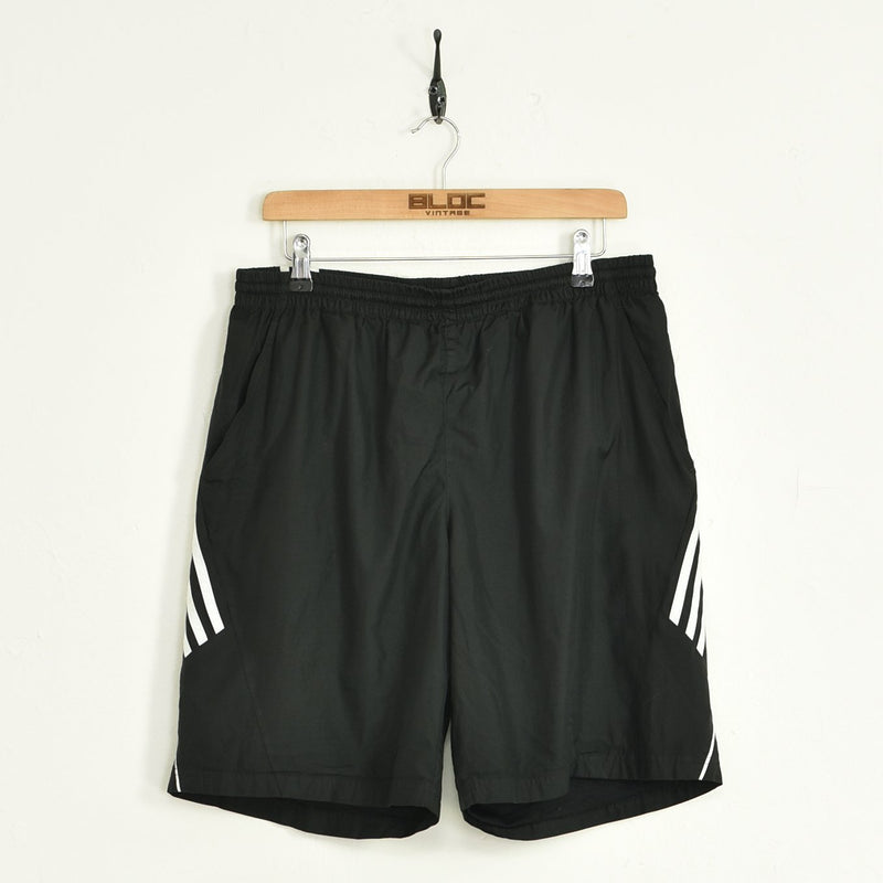 Adidas Shorts Black Large - BLOC Vintage Clothing