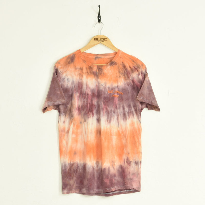 BLOC Supplies Tie-Dye T-Shirt Purple Large - BLOC Vintage Clothing