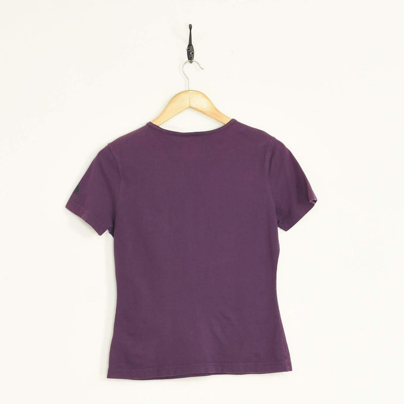 Womens Adidas T-Shirt Purple XXSmall - BLOC Vintage Clothing
