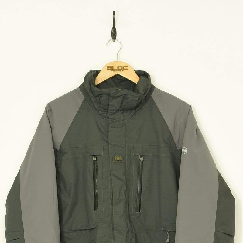 Helly Hansen Coat Grey Large - BLOC Vintage Clothing