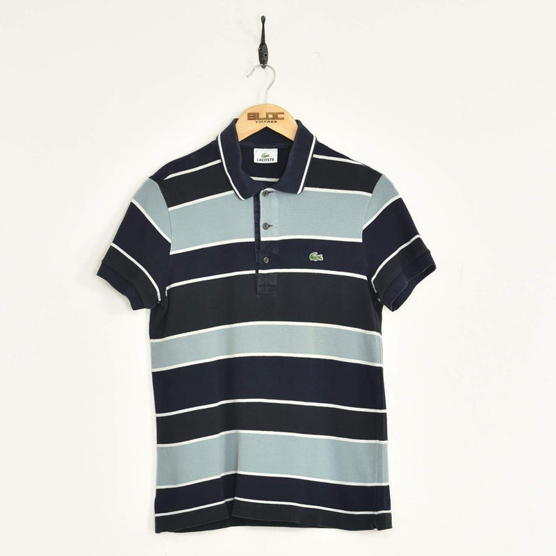 Lacoste Polo T-Shirt Blue XSmall - BLOC Vintage Clothing