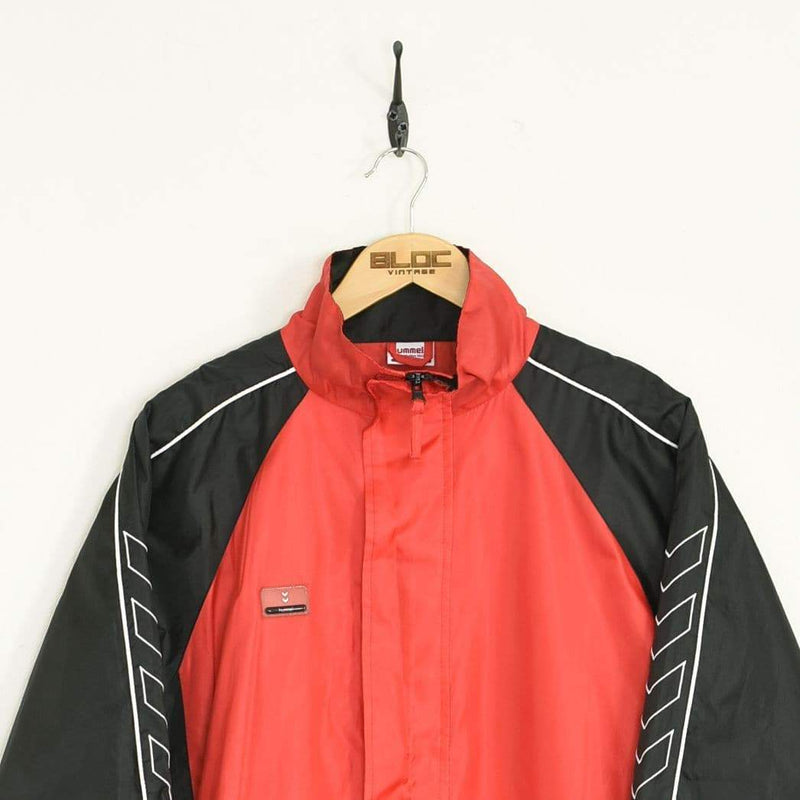 Hummel Windbreaker Red XLarge - BLOC Vintage Clothing