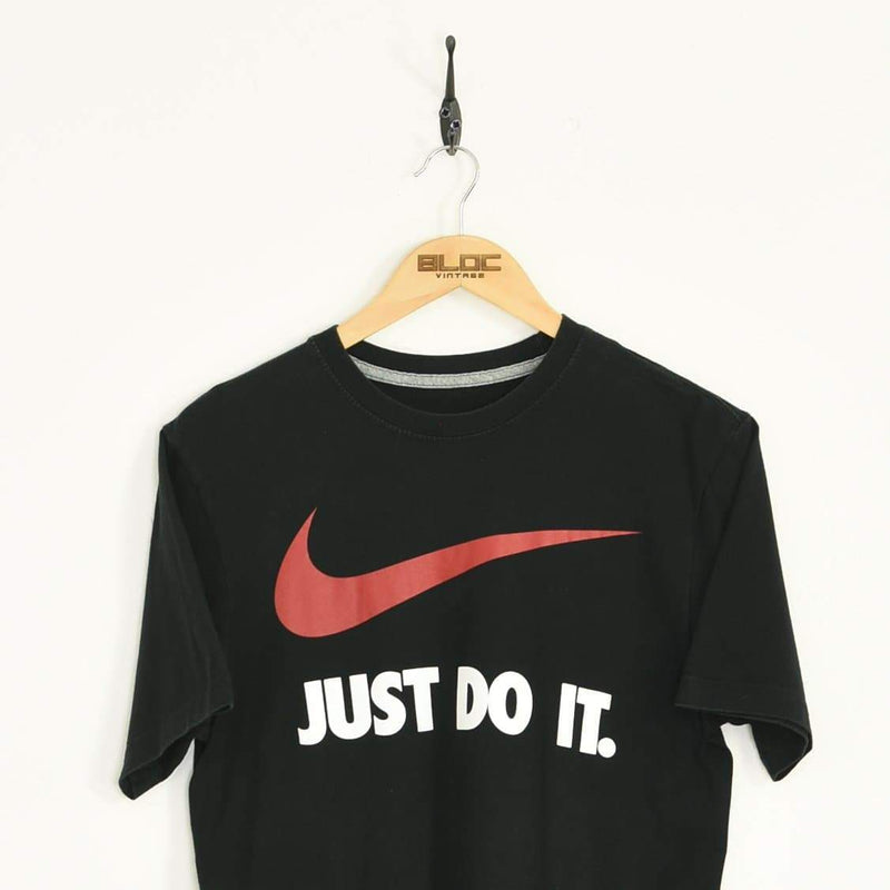 Nike T-Shirt Black Medium - BLOC Vintage Clothing