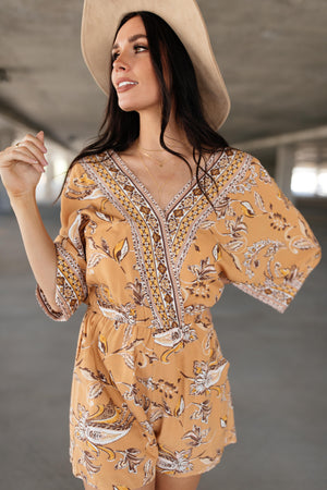 Sugar & Spice Autumn Romper