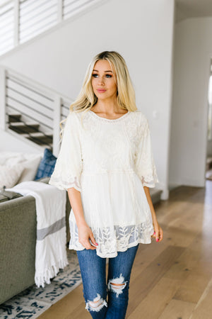 Lace Eternal Blouse