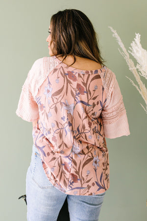 League Of Your Own Floral Top
