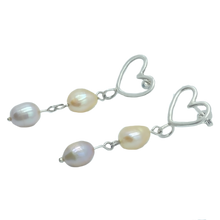Load image into Gallery viewer, Drop of Pearl Earrings - Holliegraphic