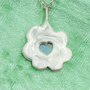Opal Flower Necklace - Holliegraphic