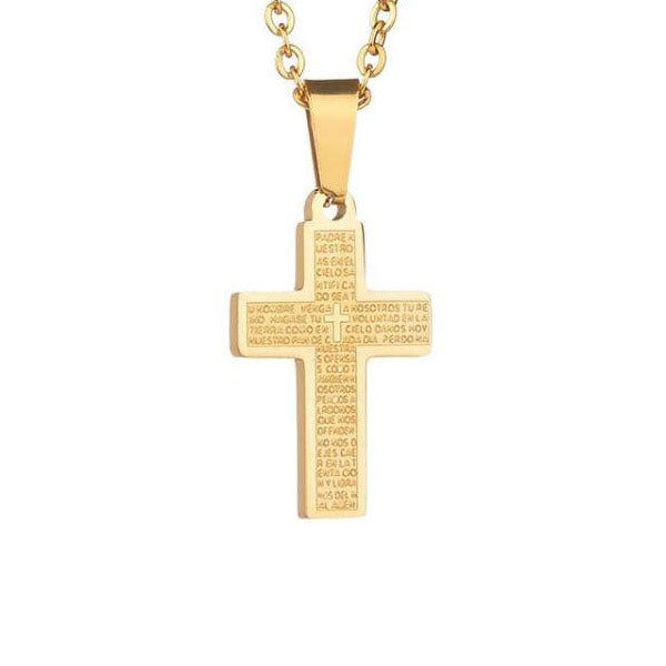 Protecting Cross Necklace
