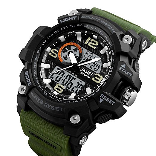Fashion Sport Watch (Dual Timer/Water Proof) - Buy 1 Get 1 FREE