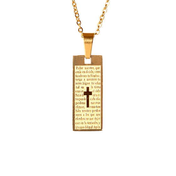Little Prayer Necklace
