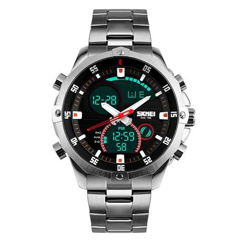 Luxury Motor Sport Watch - Silver