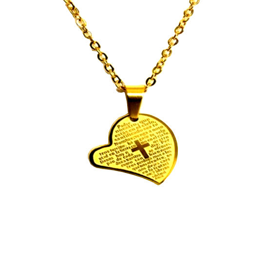Prayer Heart Necklace