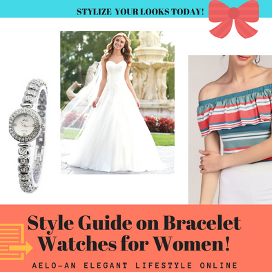 style guide on bracelet watches for women