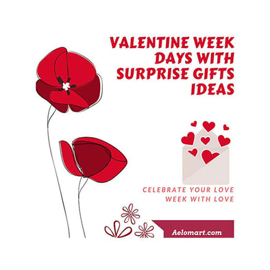 Valentine Week Days with Surprise Gifts Ideas