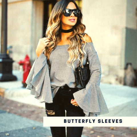 Butterfly Sleeves Top