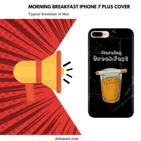 Morning breakfast iPhone 7 plus cover