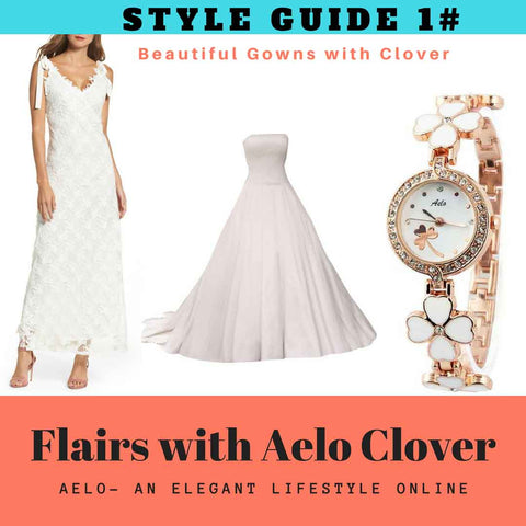 beautiful gowns with aelo clover