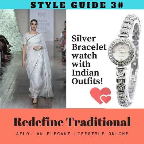 silver watch redefine traditional