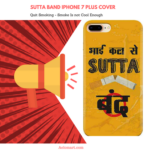 iPhone 7 plus cover Sutta Band