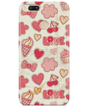 Girly Pink Redmi A1 Cover