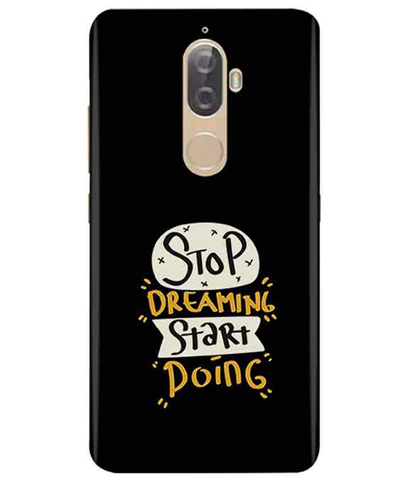 huge discount 5bf99 86159 Stop Dreaming Case Lenovo K8 Plus Cover