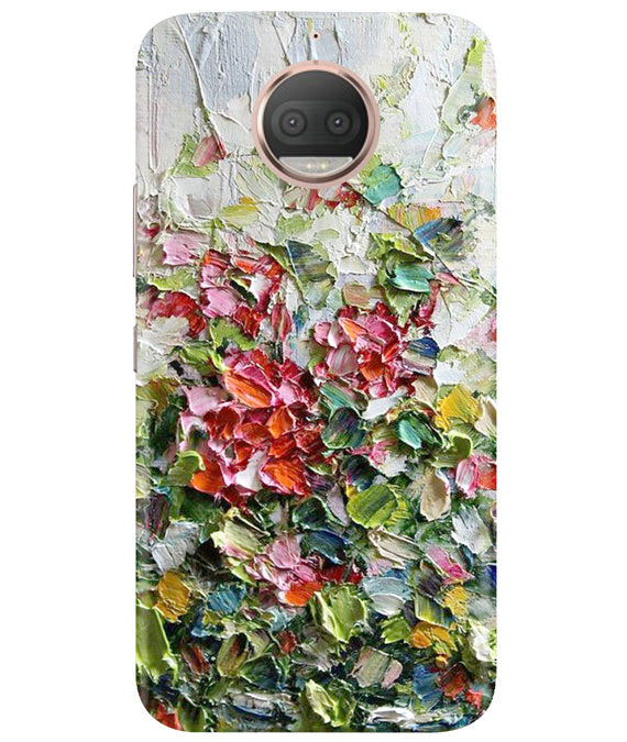 Colour Blast Moto G5 Plus Cover