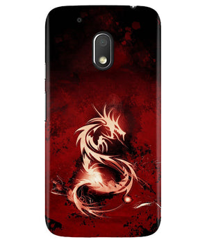 Red Chinese Dragon Moto G4 Play Cover