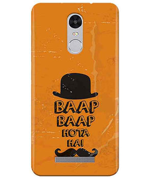 Baap is Bapp Redmi Note 3 Cover