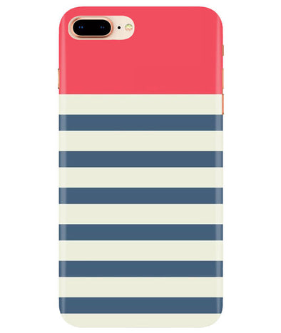 Cream Stripes iPhONE 8Plus Cover