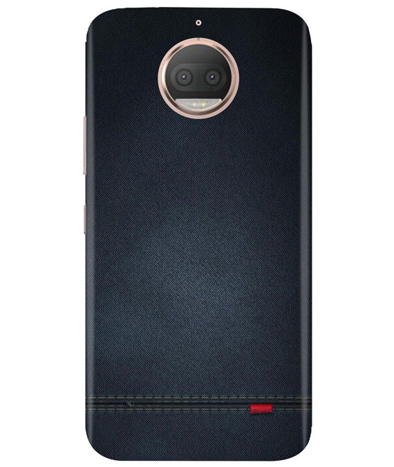 Black Denim Moto G5 Plus Cover