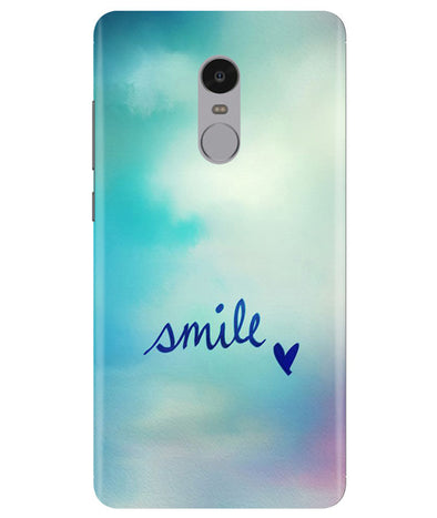 Just Smile Redmi Note 4 Cover
