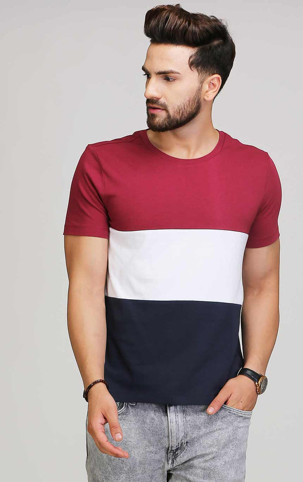 round neck half sleeve t shirt