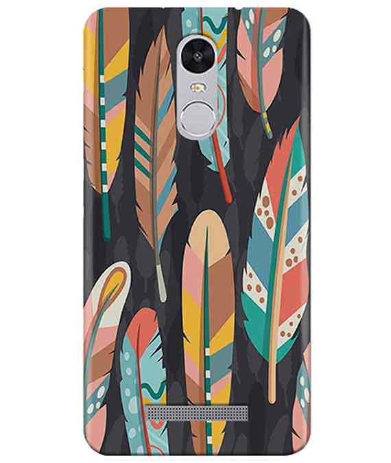 Colorful Feathers Redmi Note 3 Cover