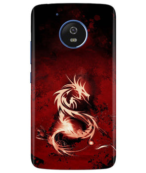 Red Chinese Dragon Moto G5 Cover